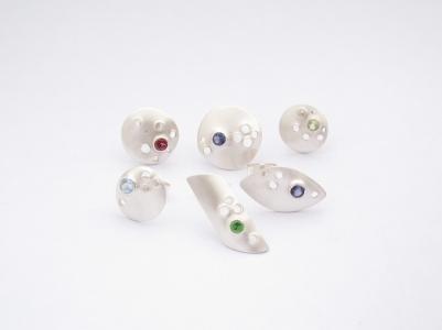 holey stones studs