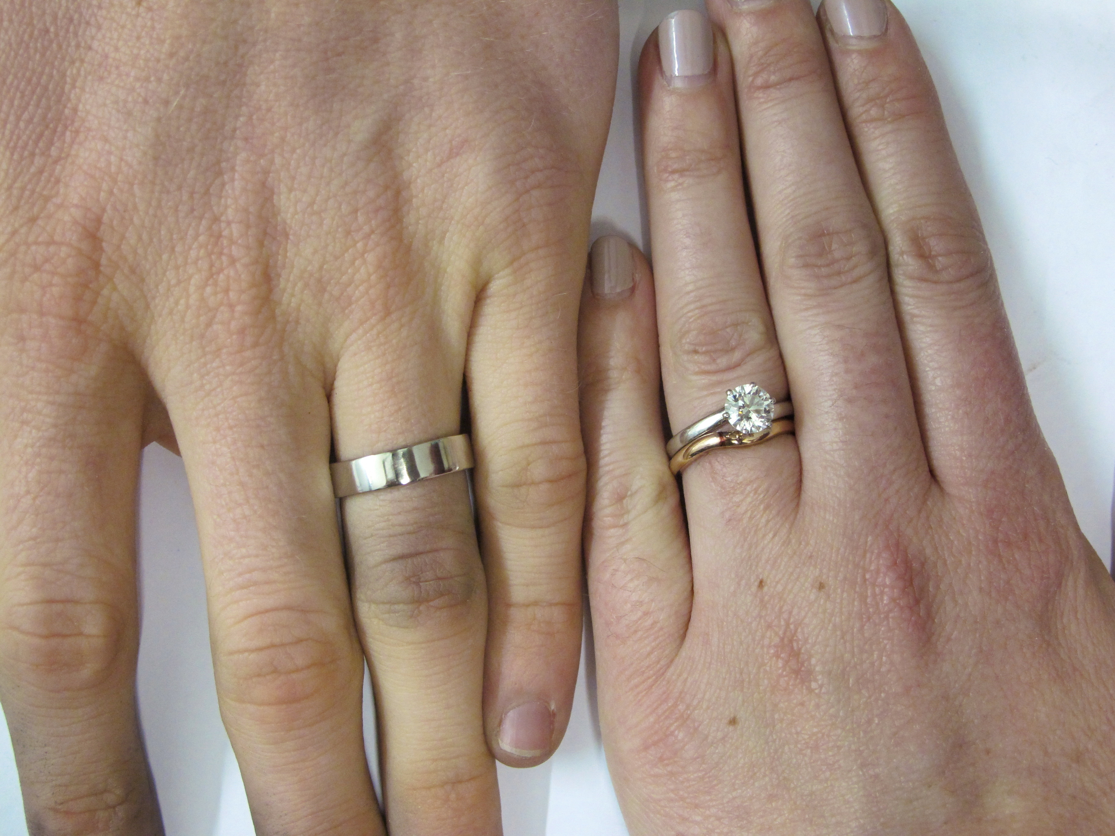 make your own wedding rings karen williams contemporary jewellery