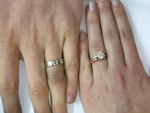 fabienne and james day - Make Your Own Wedding Ring