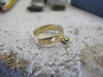 Ring and tube setting